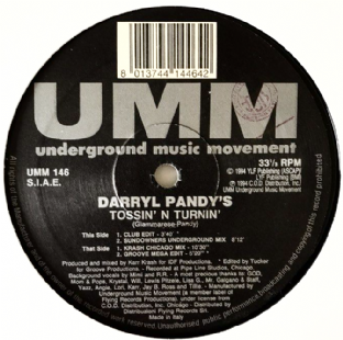 "Darryl Pandy ‎- Tossin' N Turnin' (12"") (G+/NM)"